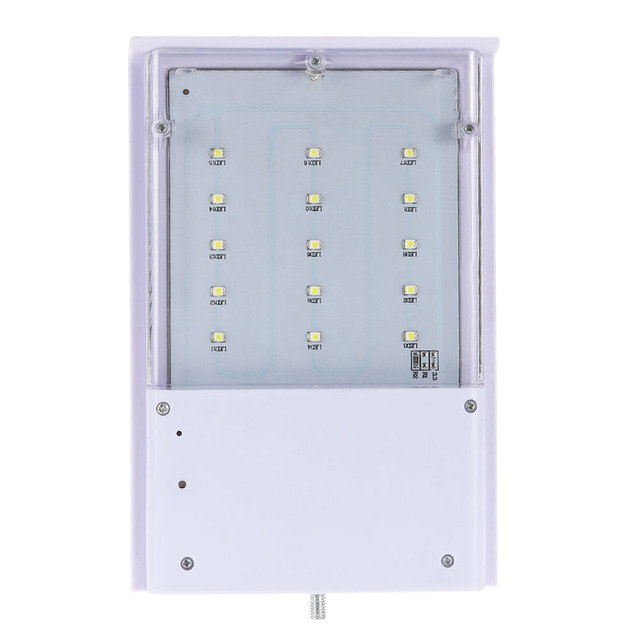 15 LED Solar Street Light Solar Lamp Garden Light Waterproof Outdoor Lighting Path Spot Light Garden Wall Emergency Lamp