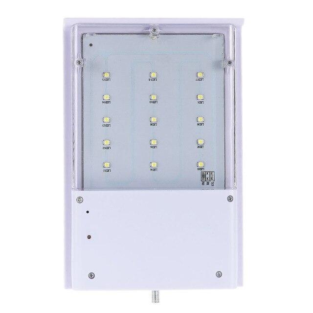 Solar Lamp 15 LED Street Light Garden Light Waterproof Outdoor Lighting Path Spot Light Garden Wall Emergency Lamp