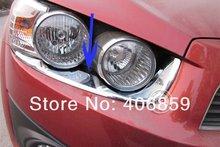 2011 chevrol-ET Авео ABS Хром Передняя фара брови обрезать bh быстрая скорость воздуха Корабль