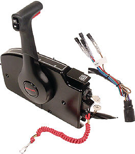For Mercury Outboard Engine Side Mount Remote Control Box With 8Pin  Part # 881170A15