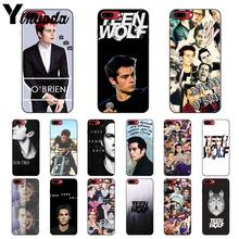 Yinuoda Dylan O'Brien Teen Wolf Newly Arrived Black Cell Phone Case for iPhone 8 7 6 6S Plus 5 5S SE XR X XS MAX Coque Shell(China)