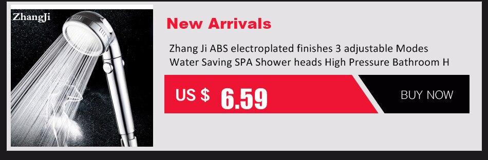 ZhangJi 3 функция Регулируемая струйная насадка для душа Ванная комната высокое давление экономия Анионный фильтр SPA s картонная упаковка