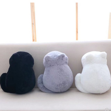 Cat plush cushions pillow Back Shadow Cat Filled animal pillow toys Kids Gift Home Decor For Christmas