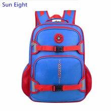Sun eight niños bolsas escuela mochila ortopédica niños mochila bolsa de niño grande negro azul bolsas de hombro mochila dropshipping
