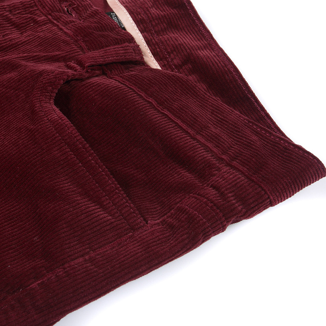 Free Shipping 2019 New Spring Autumn Men's Smart Casual Corduroy pants Flares male Mid Waist bell-bottom Plus Size Trousers 5