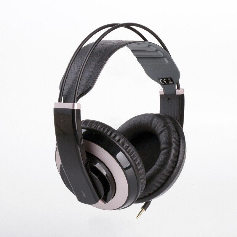 Auricul Superlux HD687 Professional Semi-open Studio Standard Dynamic Headphones Monitoring For DJ Music Detachable deep Bass цена 2017