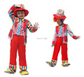 Shanghai Story 2017 Harlequin costume halloween cosplay costume children masquerade performance wear,The clown costume