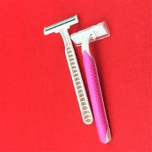 Woman Razor Blade 3-Blade Shaving Razor Blade for Women Shap Shaving Trimmer Shaver Blades 4Pcs razor gillette mach 3 turbo shaver razors mak3 shaving machine for shaving mach3 2 razor blades for shaving machine