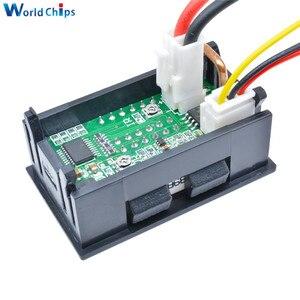 Image 2 - Kırmızı mavi çift dijital LED AMP ekran DC voltmetre ampermetre 4 Bit 5 teller DC 200V 10A voltaj Volt akım ölçer güç kaynağı