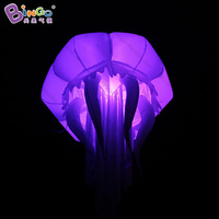 1.3m led inflatable jellyfish balloon / jellyfish inflatable/  inflatable decorative jellyfish balloon  toy|Inflatable Bouncers| |  -