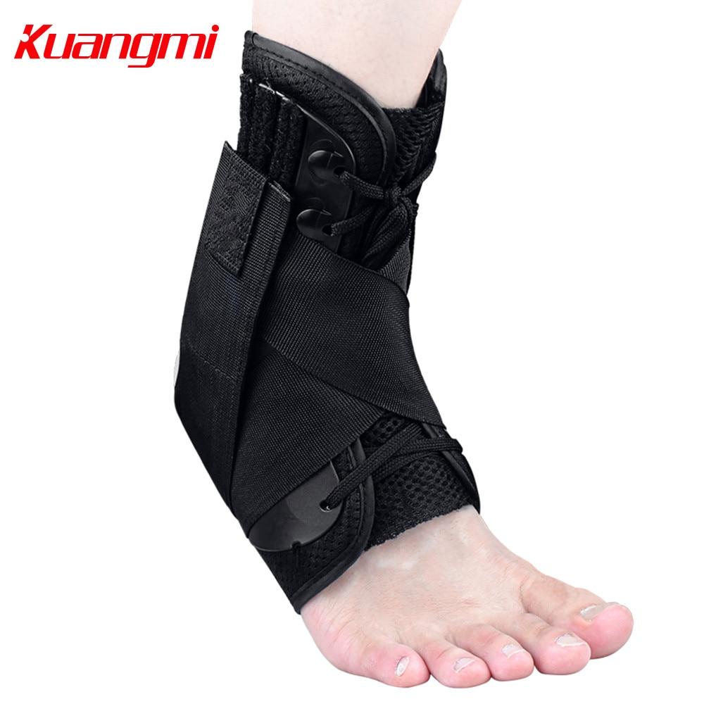 Kuangmi 1 PC Soporte de tobillo Baloncesto Protector deportivo - Ropa deportiva y accesorios