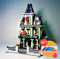 16007 2141Pcs Monster Fighter The Haunted House Model Set Building Kits Model Compatible With 10228 Lepin