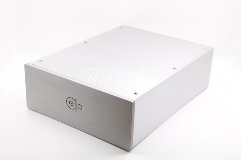 CELLO 2309 Blank Silver Full Aluminum Amplifier Enclosure Preamp Chassis PSU Case 4312 blank full aluminum enclosure power amplifier box psu chassis preamp case