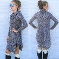 Мода Сексуальные Женщины платья Bodycon dress Длинные Рукава Вязание Мини Dress Туника Зима Европейский стиль PHY055E