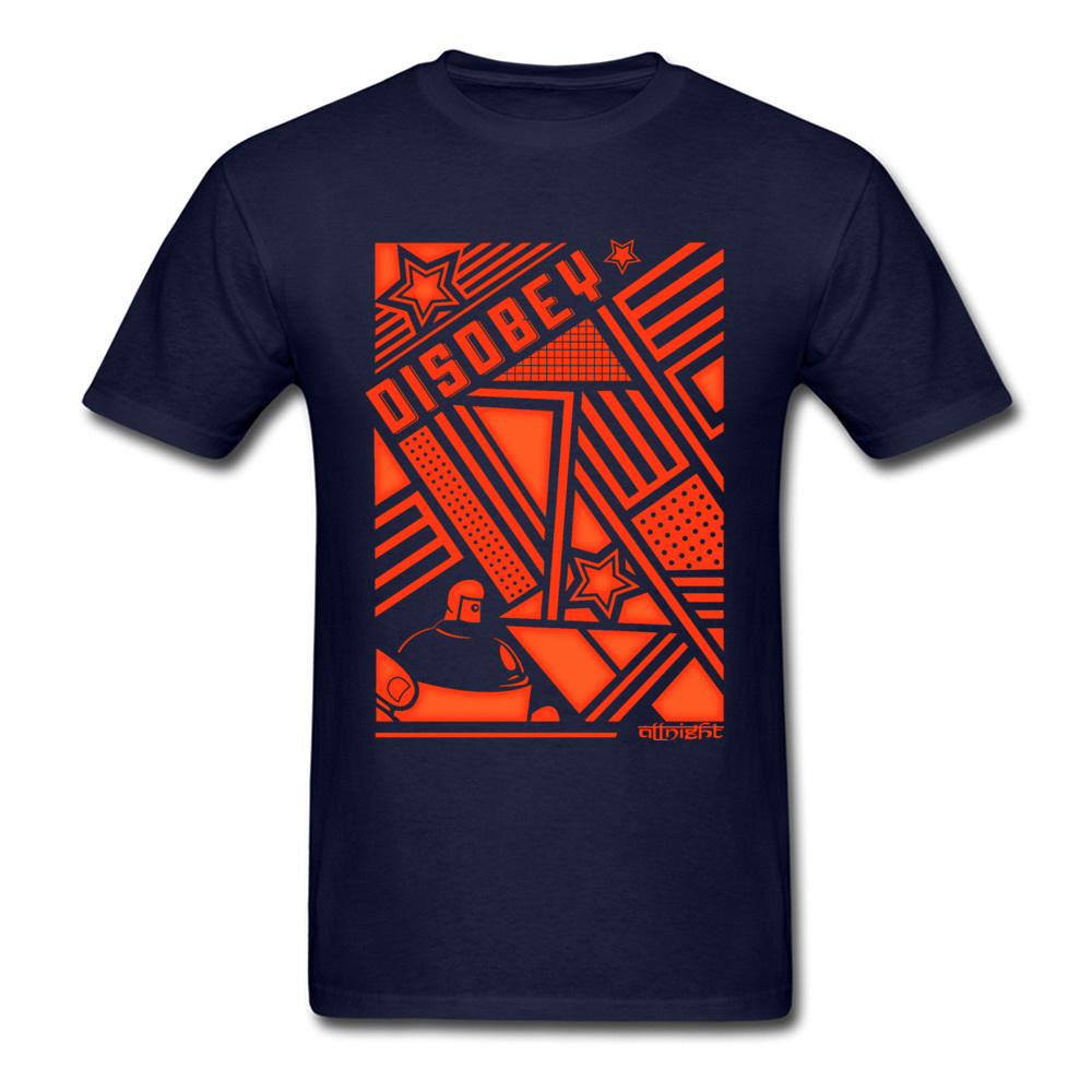 Disobey T-Shirt 100/% Cotton