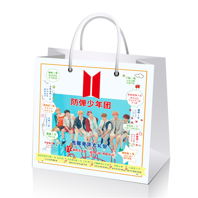 New Bts Love Yourself Big Gift Collection Box With Star Lyrics