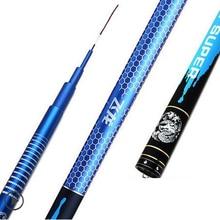 Sea carp pole Japan imported carbon fishing rod super light superhard 28 fishing rod black stick hand lever rod/150809