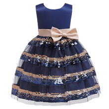 цена на Kids Dresses For Girls Wedding Dress Elegant Children Princess Evening Party Dresses Toddler Flower Girls Dress
