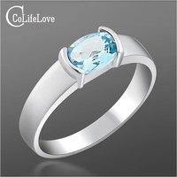 Venda quente anel de moda para a mulher 100% jóias topázio naturais anel de citrino 925 anel de prata esterlina sólida presente de aniversário para menina