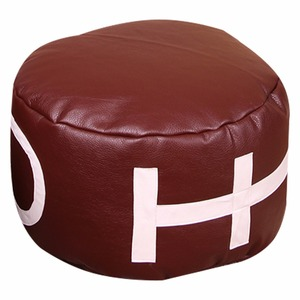 Image 2 - LEVMOON Beanbag Sofa Chair ball  Seat Zac Comfort Bean Bag Bed Cover Without Filling  Just Shell  Rugby beanbags