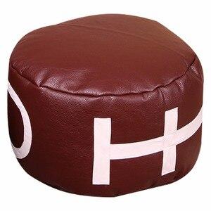 Image 2 - LEVMOON Sitzsack Sofa Stuhl kugelsitz Zac Komfort Sitzsack Bett Abdeckung Ohne Füllung Nur Shell Rugby sitzsäcke