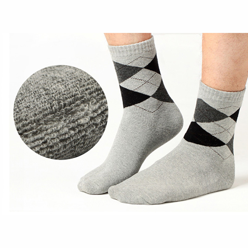 2Pair Comfortable Mans Male Socks Men Solid/Geometric Low Cut Ankle Breathable Casual Dress Sock for Men Ankle Short Socks