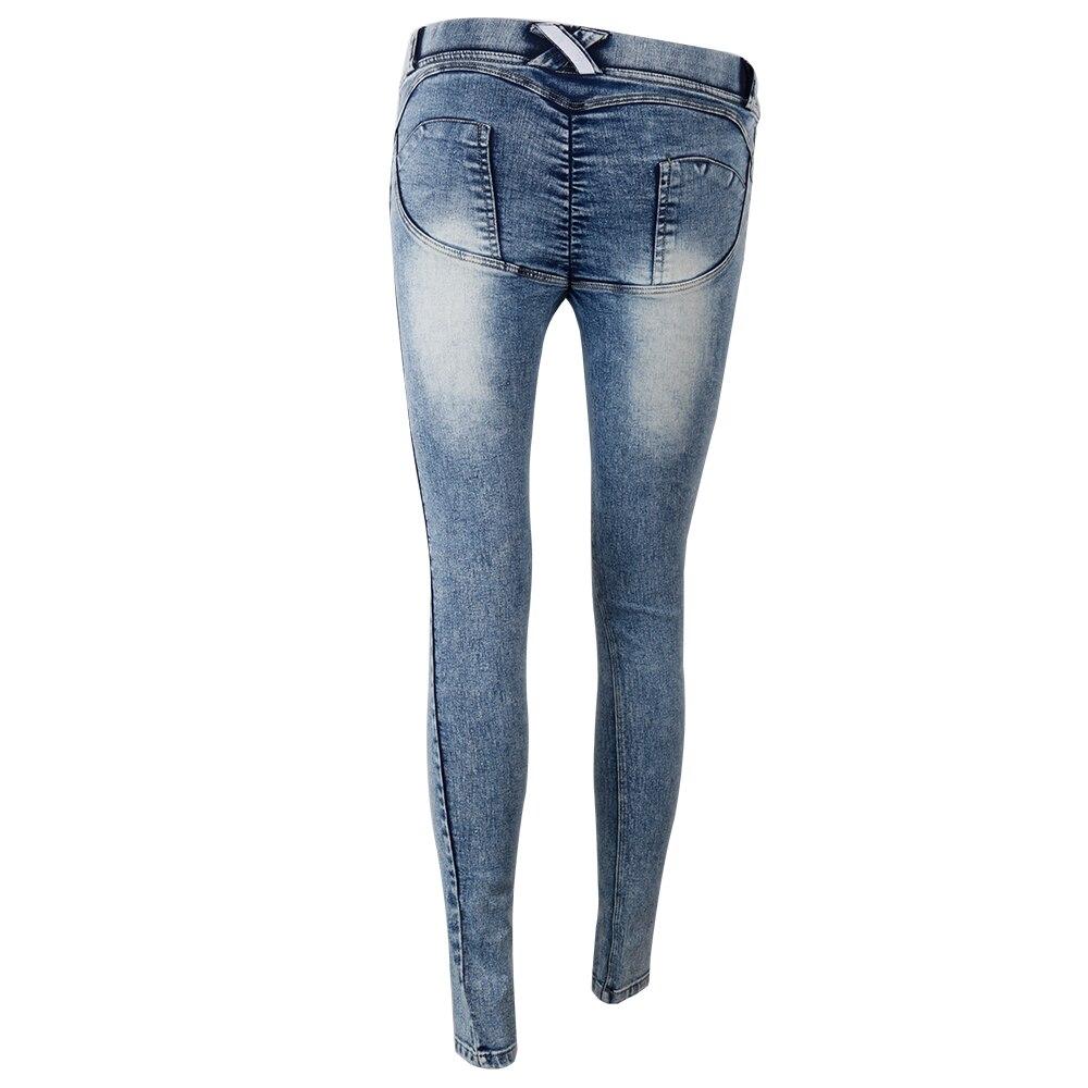 Fashion Full Hip Skinny High Waist Jeans Slim Pencil Pants