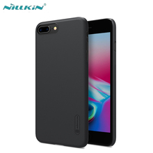 8 Case For iPhone 8 8 Plus Cover NILLKIN Super Frosted Shield Matte Hard PC Back Case For Apple iPhone 8 With Screen Protector glossy matte lcd screen front back protector w cleaning cloth for iphone 4 4s transparent