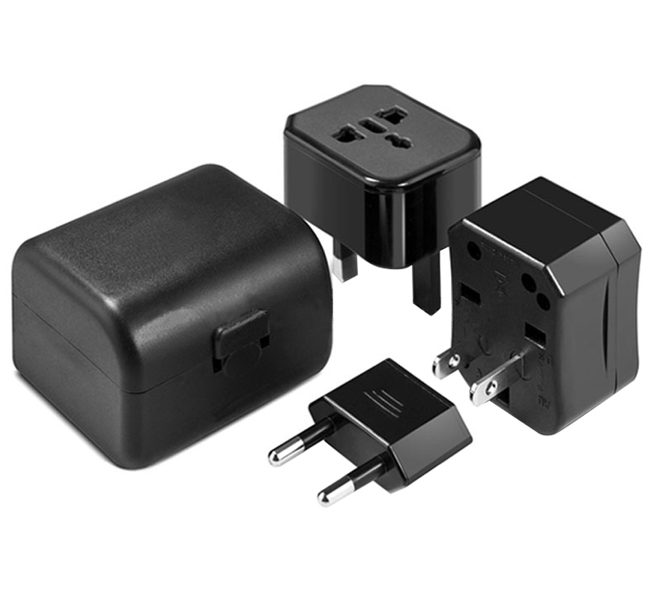 Three-in-one Global Travel Conversion 3 Sockets Plugs Universal Adapter Travel Abroad Converter Household Plugs USAUEUUK (13)
