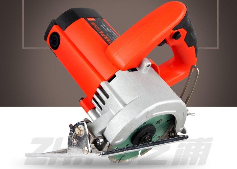 ФОТО Improvement High-power household stone/wood/tile cutting multifunctional circular saw machine slot machine woodworking saws