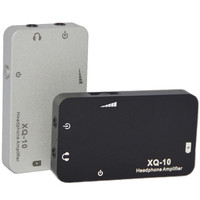 XDuoo XQ 10 Mini Portable Sound Earphone Headphone Amplifier Metal Case Big Power Connected With PC
