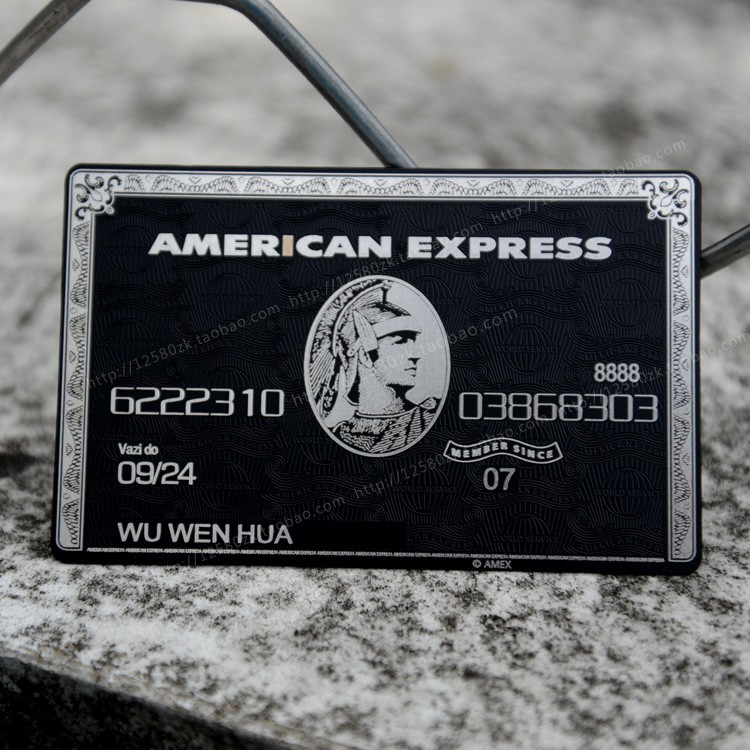 Carte Black Titane Amex Centurion.Us 99 0 10 Off Chip Card Magnetic Stripe Card With The Box American Express Card Cardka Custom Personalized Free Shipping In Business Cards From