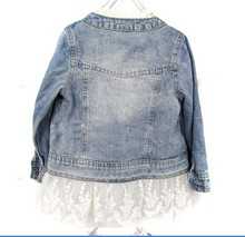 Lace Cowboy Denim Jacket