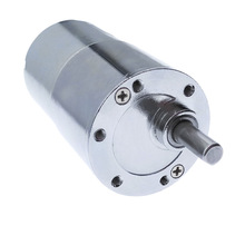 цена на ZGB37RG reducer eccentric motor micro DC gear motor 12V/24V gearhead with eccentric output shaft