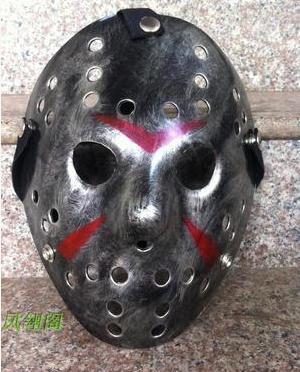 Halloween Masker Maken.Us 10 52 Zilver Kleur Nieuwe Maken Oude Cosplay Halloween Masker Jason Voorhees Freddy Hockey Festival Party Halloween Masker In Zilver Kleur Nieuwe