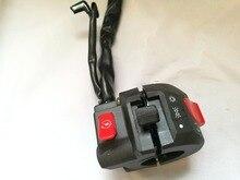 Luxury Universal Handlebar Black Motorcycle Turn Signal Light Switch