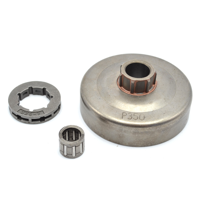 Chainsaw Clutch Drum Assy .325 Rim Sprocket with Needle Bearing fit Partner 350 351 Replaces Parts rim sprocket