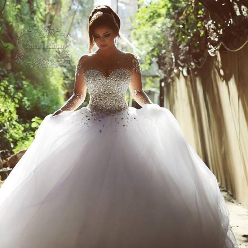 Said Arabian Design Illussion Jewel Beaded Bling Bling Pearls Long ...