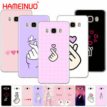 Hameinuo Cinta Di Jari Cover Phone Case untuk Samsung Galaxy J1 J2 J3 J5 J7 Mini Ace 2016 2015 prime(China)