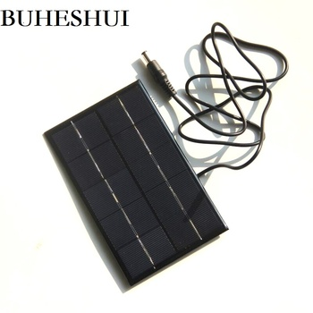 BUHESHUI 1.9W 5V Polycrystalline Solar Panels Small DIY Solar Power 3.6V Battery Charger Solar Cell 142*88MM 10pcs Free Shipping
