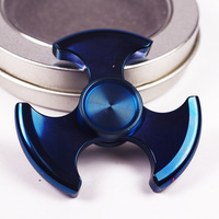 80g Limited Metallic Hot Wheels High Quality Metal Fidget Spinner EDC Hand Spinner Top Rotation Time