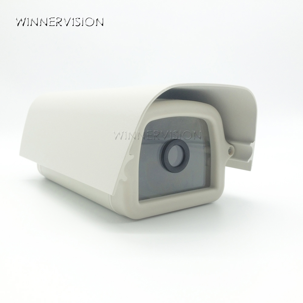 External Weatherproof Small Waterproof Outdoor Aluminum Cover Material Protective Security CCTV Camera Shell Housing