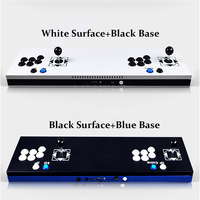 New Arcade Joystick Ultra Thin Metal Arcade Gaming Box Double Stick Arcade Console Plug In 680