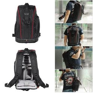 Image 4 - פונקציונלי עמיד למים DSLR תרמיל מצלמה וידאו תיק מרופד מצלמה תרמיל עבור Canon Nikon צילום מצלמה תיק באיכות גבוהה