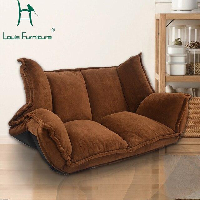 style europeen moderne dame canape reglable creatif canape lit pliant confortable et de la peau