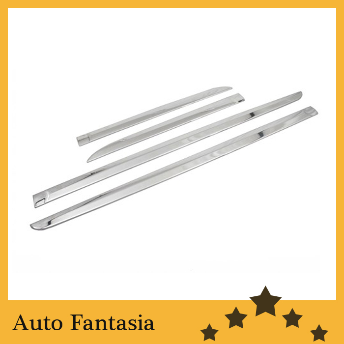 Plastic Chrome Trim, Chrome Side Door Molding Trim set for Ford Escape / Kuga 2013