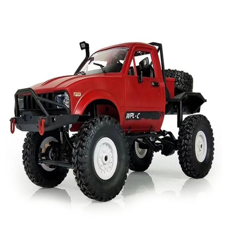 купить Remote-controlled Off-road Vehicle Version WPL C14 1/16 Scale 4WD Off-road RC Semi-Truck Car Toy Auto Vehicle RTR Gift по цене 2594.78 рублей