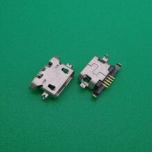 200 pz/lotto Micro USB di Ricarica Sincronizzazione di Dati Del Connettore della Porta per Lenovo A516 A650 Martinetti A678t A830 A850 S650 S868t k3 Nota k50 t5
