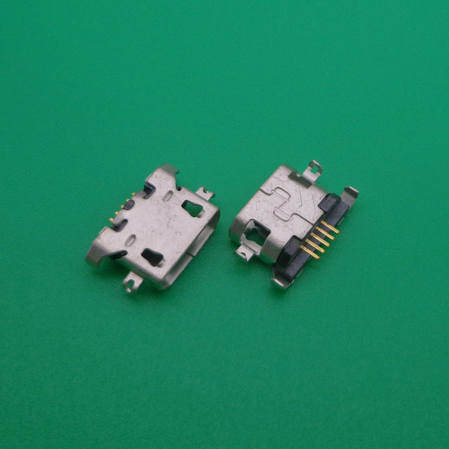 200 stks/partij Micro USB Opladen Data Sync Power Jack Port Connector voor Lenovo A516 A650 A678t A830 A850 S650 S868t k3 Note k50 t5