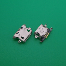 200pcs/lot Micro USB Charging Data Sync Power Jack Port Connector for Lenovo A516 A650 A678t A830 A850 S650 S868t K3 Note k50 t5